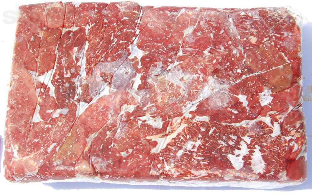 Мясо говяжье, суб. продукты, Б/к, Н/к