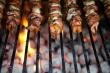Шашлыки из баранины, индейки и курицы в этом году пользовались большей популярностью