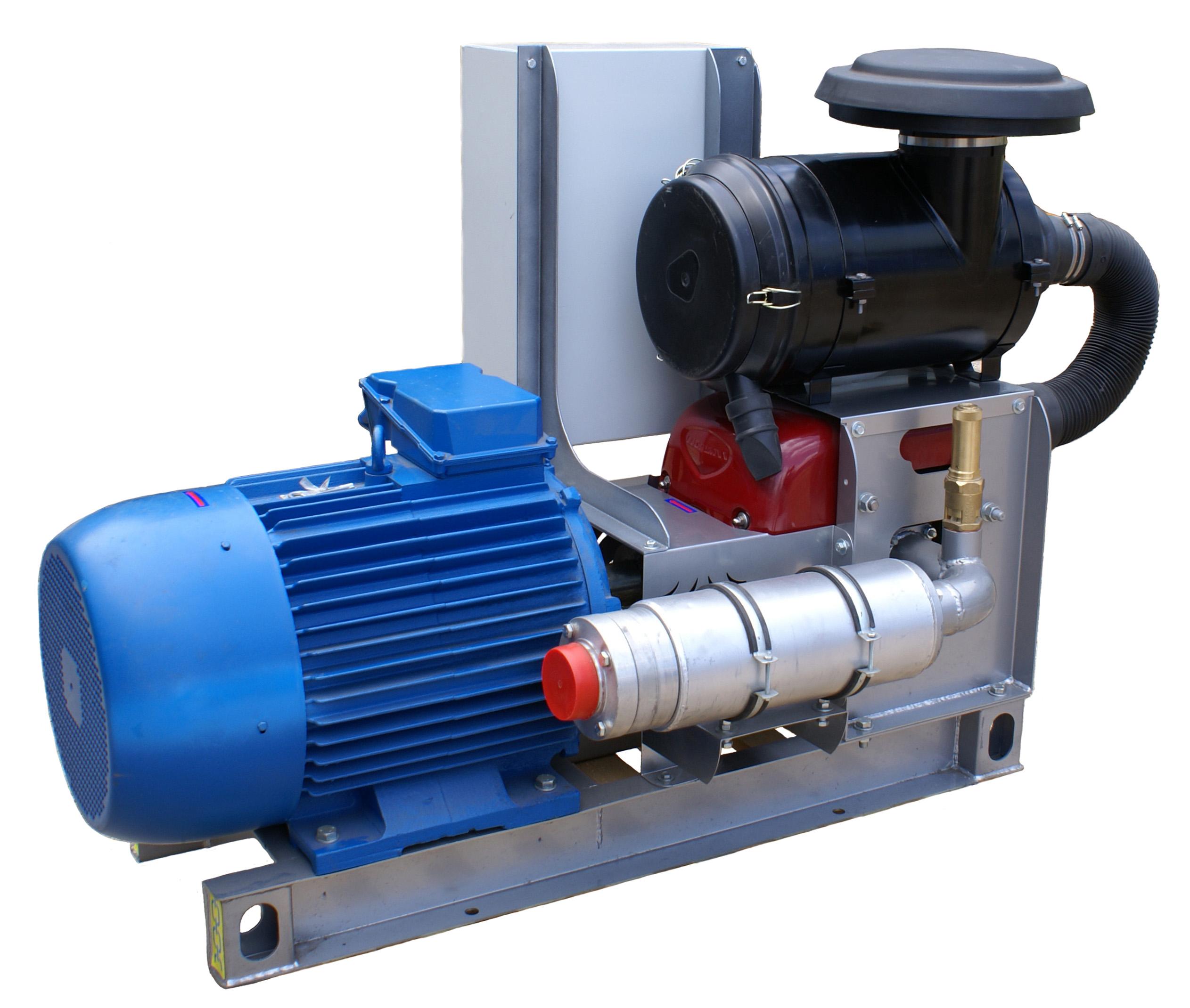 Компрессорный агрегат XK-18 с 55 кВтным электроприводом