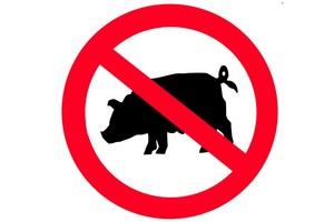 Беларусь ввела запрет на ввоз из Черкасской области Украины продукции свиноводства