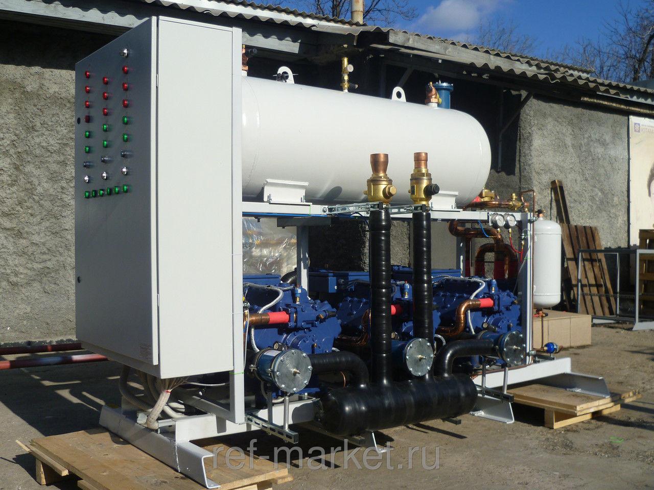 Холодильные агрегаты и компрессорные станции.