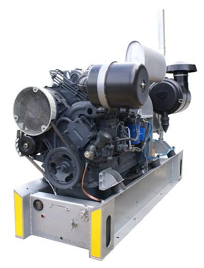 Компрессорный агрегат Bulkline 650 с ДВС Д 144