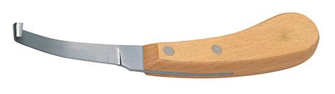 Ножи для копыт с одним лезвием, узкие