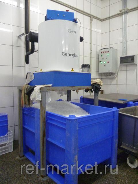 Установки получения ледяной воды.