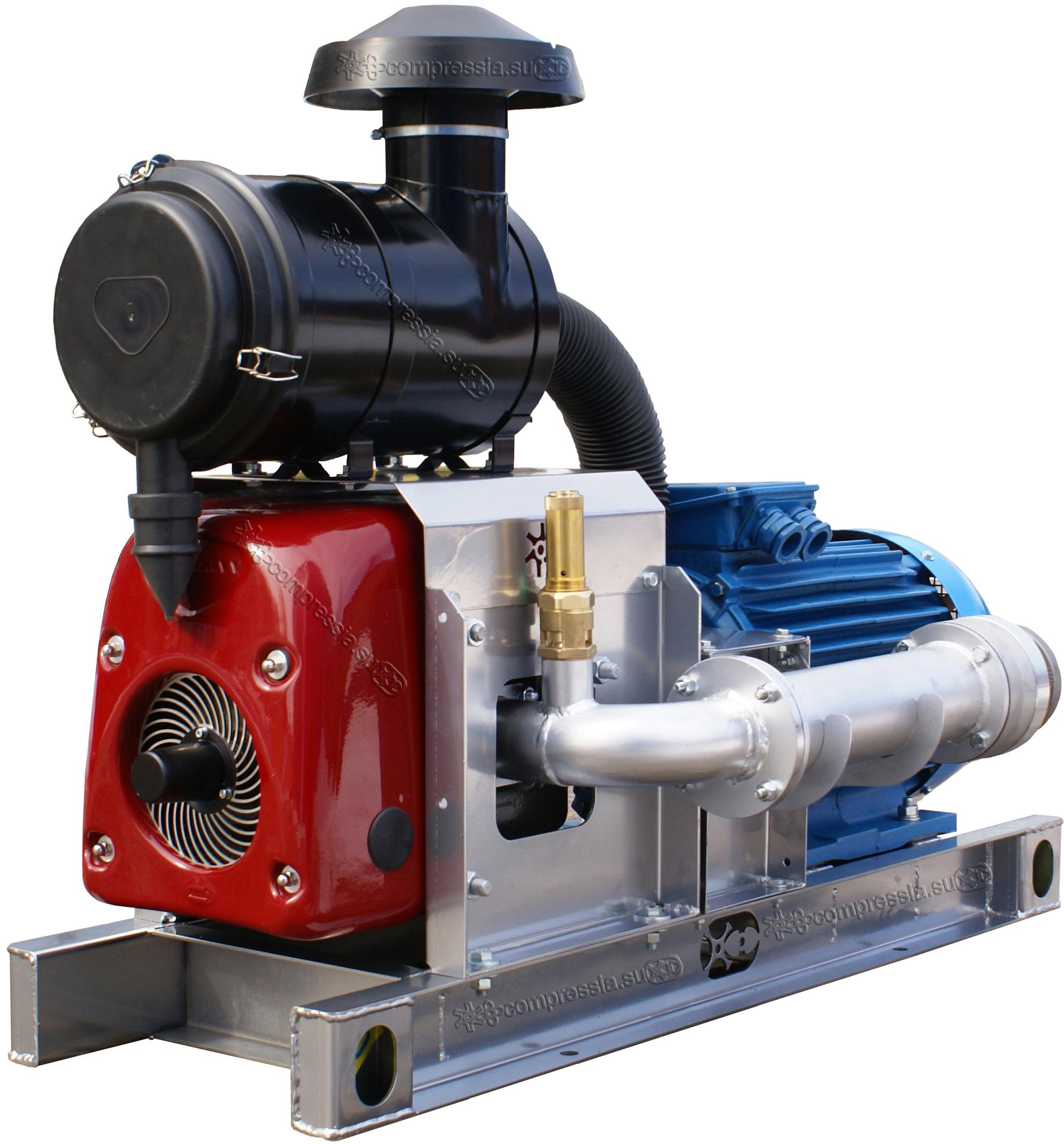 Компрессорный агрегат XK-12 с электроприводом 30 кВт