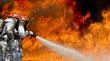 В Пензенской области загорелся свинокомплекс