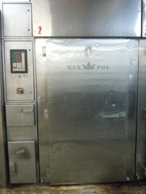Термокамера 2-рамная электрическая