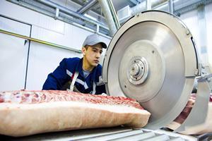 Мясокомбинат в Данкове за полгода работы вышел на полную мощность