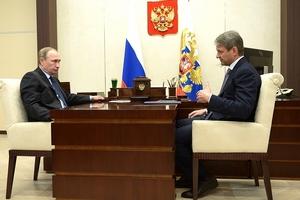 Состоялась встреча Владимира Путина с Министром сельского хозяйства Александром Ткачёвым