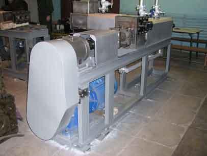 Экструдер по переработке пера птицы AC.031