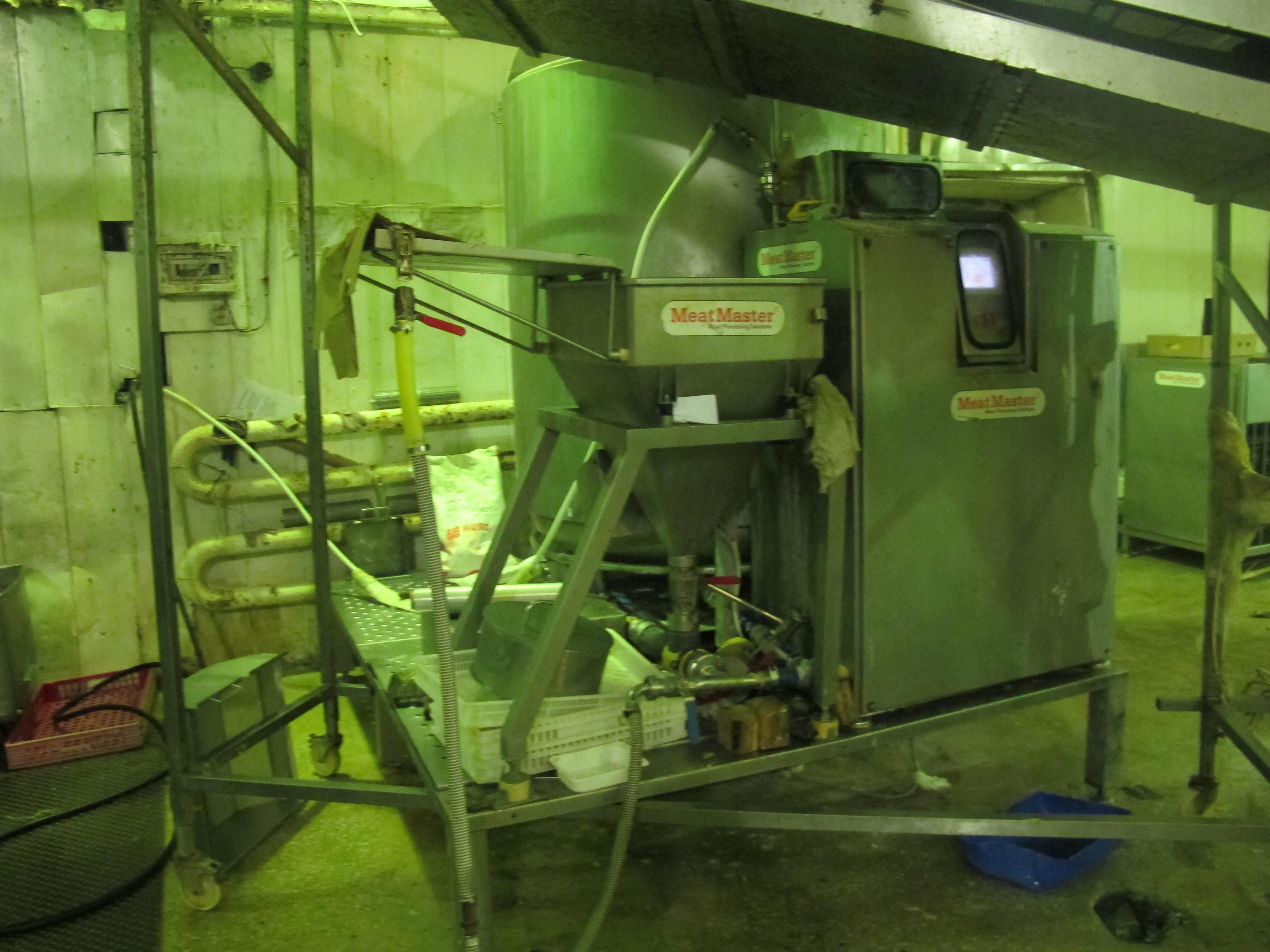 Установка для приготовления рассола