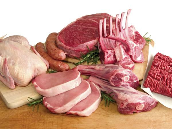 Свиной окорок, свиная шейка, свиная корейка, свиная лопатка