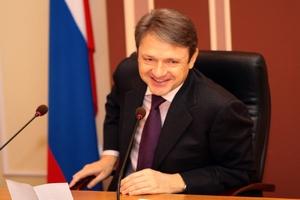 Поздравление министра сельского хозяйства РФ Александра Ткачева с Международным женским днем 8 марта