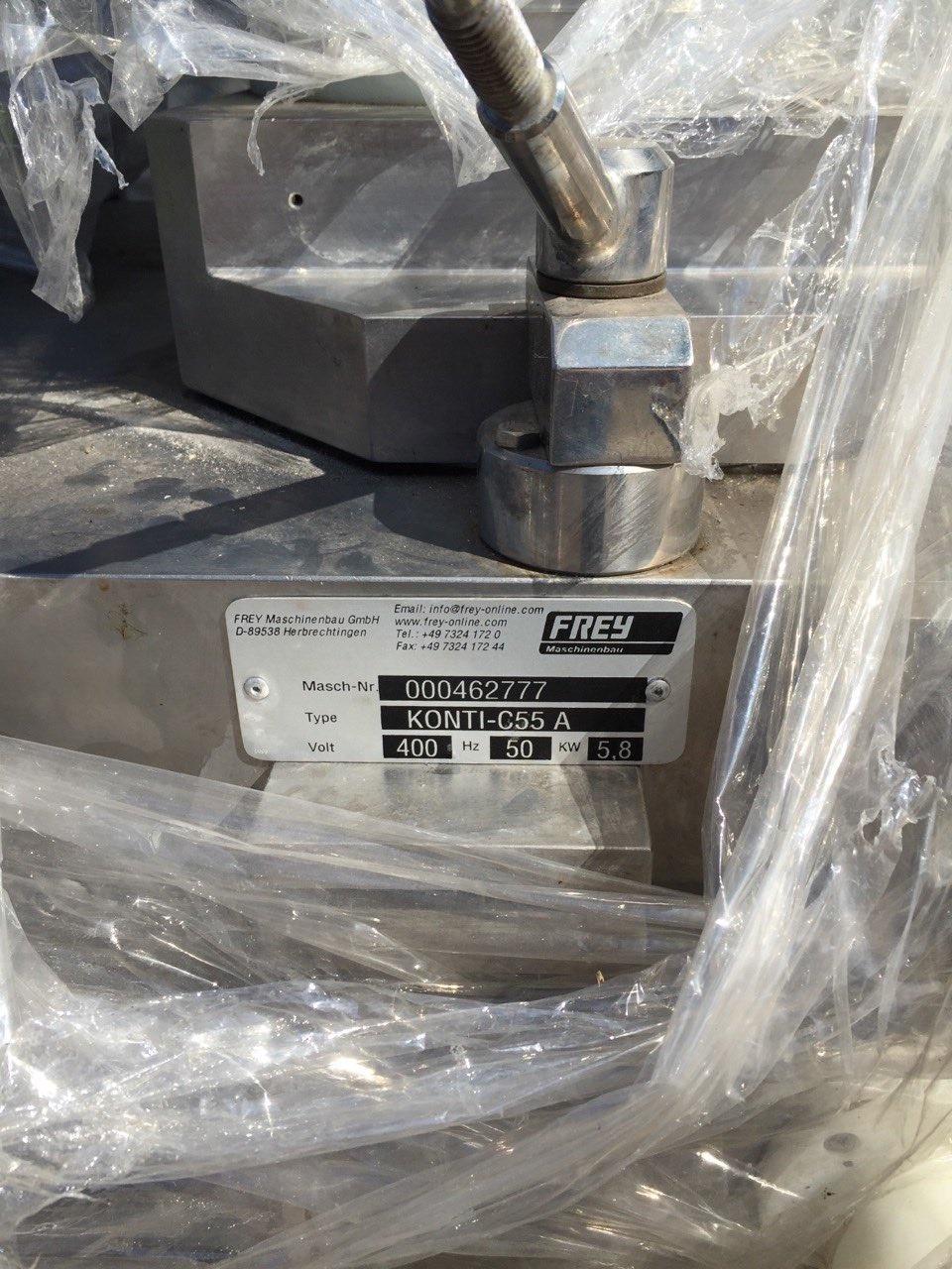 Вакуумный шприц роторного и поршневого типа FREY KONTI C 55