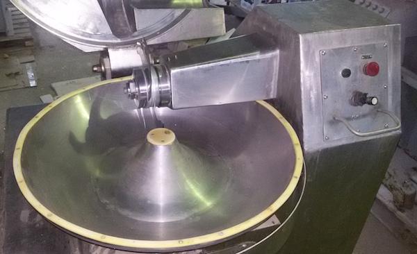 Куттер невакуумный для производства колбас 40 литров