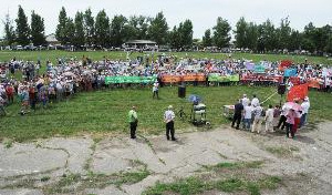 Жители одного из районов Воронежской области протестуют против строительства свинокомплексов