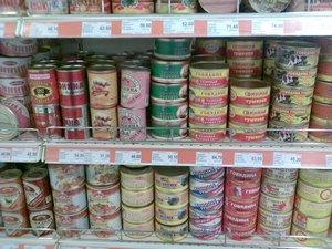 РСПП: 67% мясных консервов на российском рынке - фальсификаты