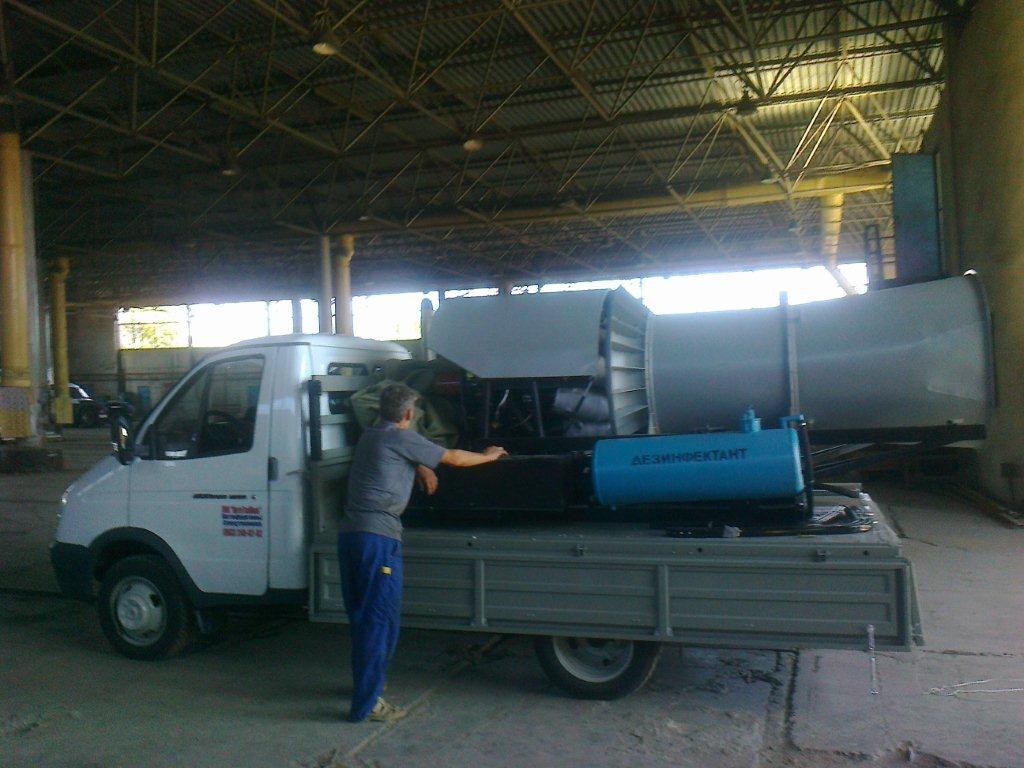 Продажа дезинфекционной газотурбинной установки: АИСТ-2М