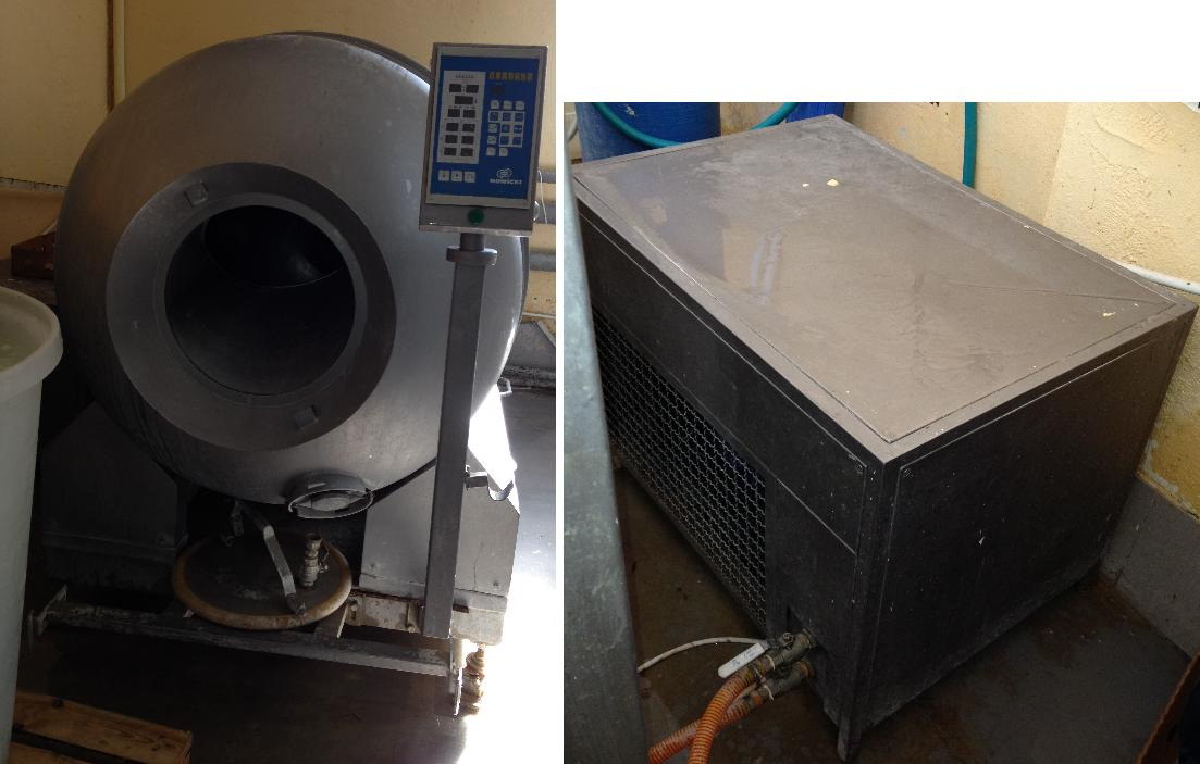 мясоМассажер Nowicki МА-1500 PSCH со станцией охлаждения