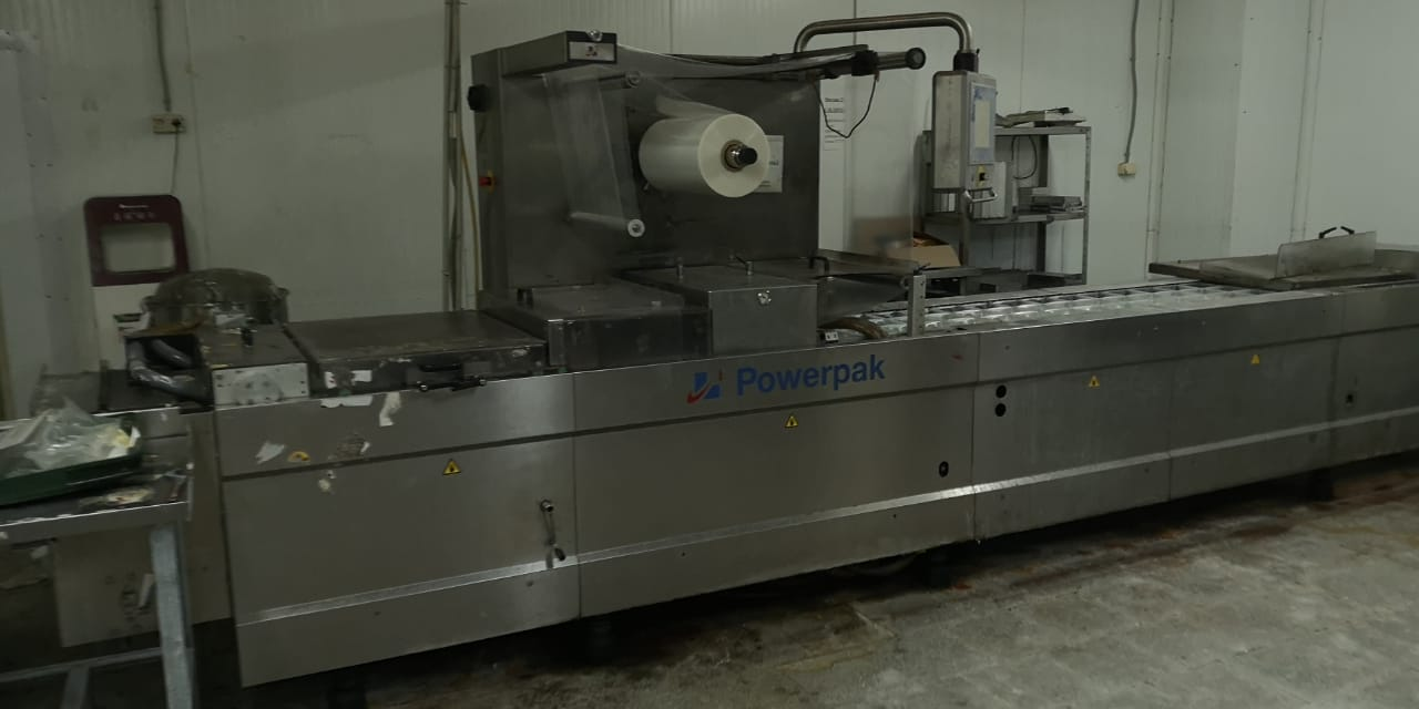 Термоформующая упаковочная машина