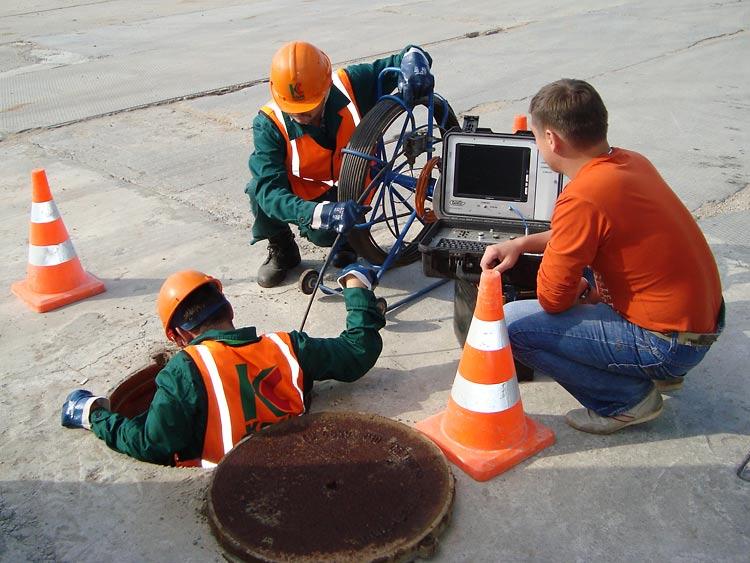 Телеинспекционное обследование трубопроводов