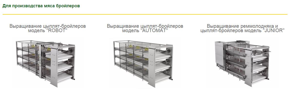 Клеточное оборудование для отрасли птицеводства