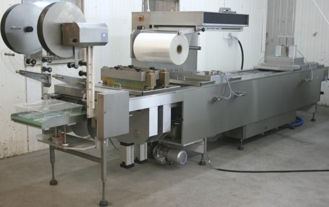 MULTIVAC R80 для работы на жёсткой плёнке