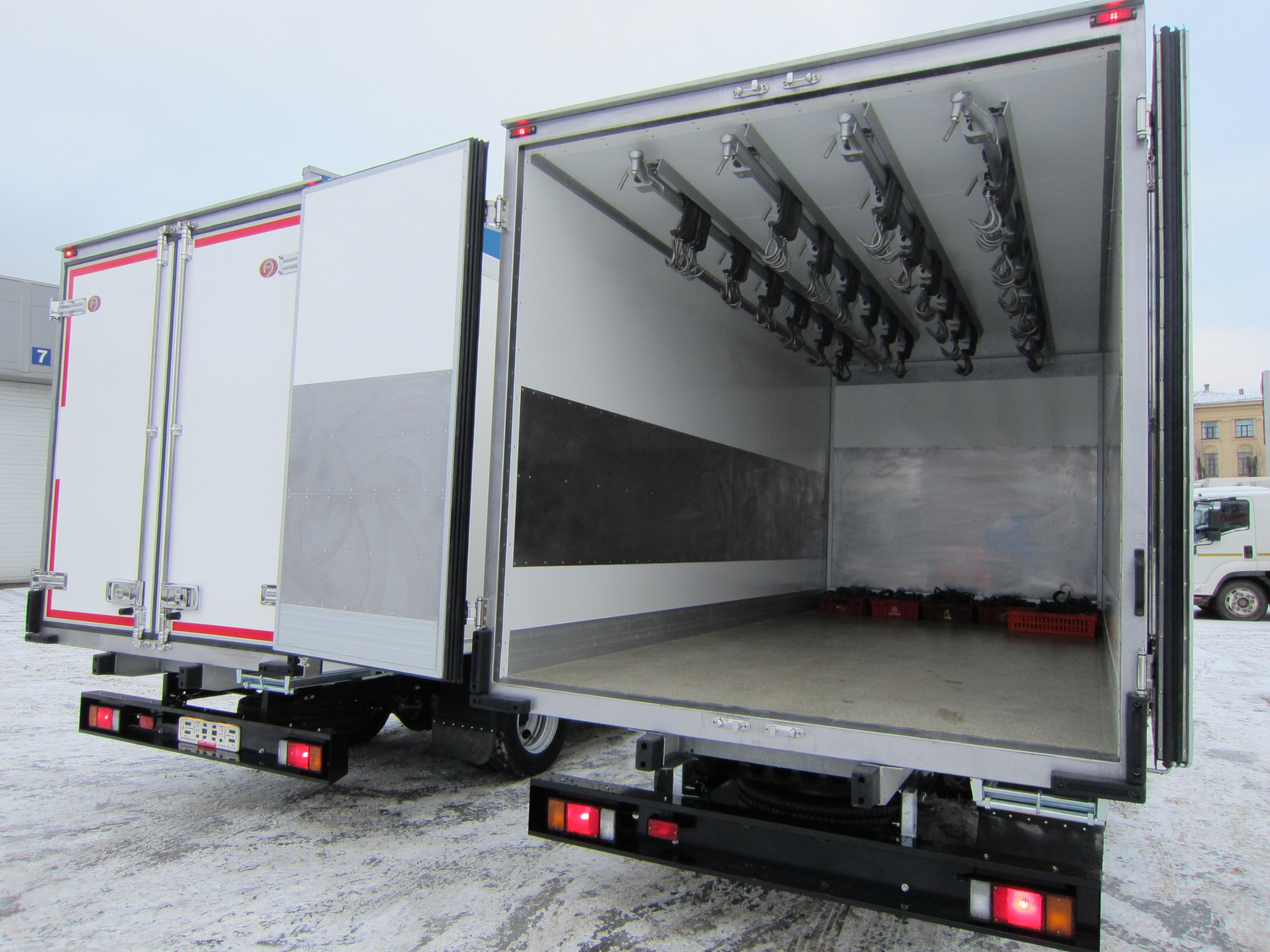 Авторефрижераторы-тушевозы и фургоны тушевозы изготовление.