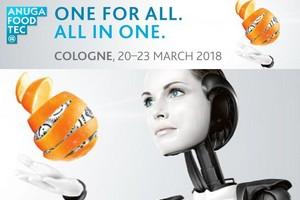 20 марта в Кёльне откроется 8-я Международная специализированная выставка технологий пищевой промышленности Anuga FoodTec-2018