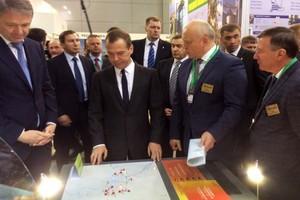 «Омский бекон» презентовал свой проект Дмитрию Медведеву
