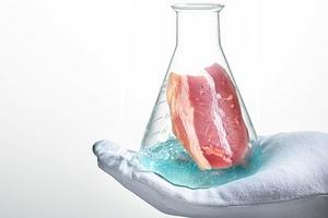 Компания Impossible Foods презентовала искусственное мясо на выставке электроники