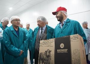 KazBeef Group открыла крупнейший в Казахстане комплекс по переработке мраморной говядины