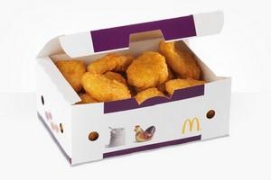 Новые рецепты куриного мяса подняли акции McDonald`s