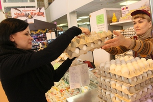 Госветфитослужба Украины изучает случай заражения поставленных в Израиль куриных яиц