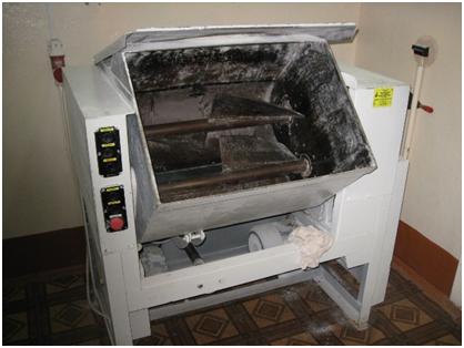 Тестомесительная машина