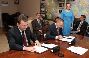 Правительство Тульской области и агропромышленный холдинг «Мираторг» подписали соглашение о сотрудничестве