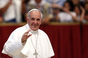Папа Римский рассказал бездомным о детском желании стать мясником