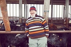 Задавший вопрос Путину владимирский фермер Джон Кописки начнет производить сыр с плесенью
