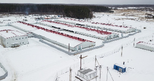 Ивановская область: свиноводческий комплекс группы «Дымов» запущен в тестовом режиме