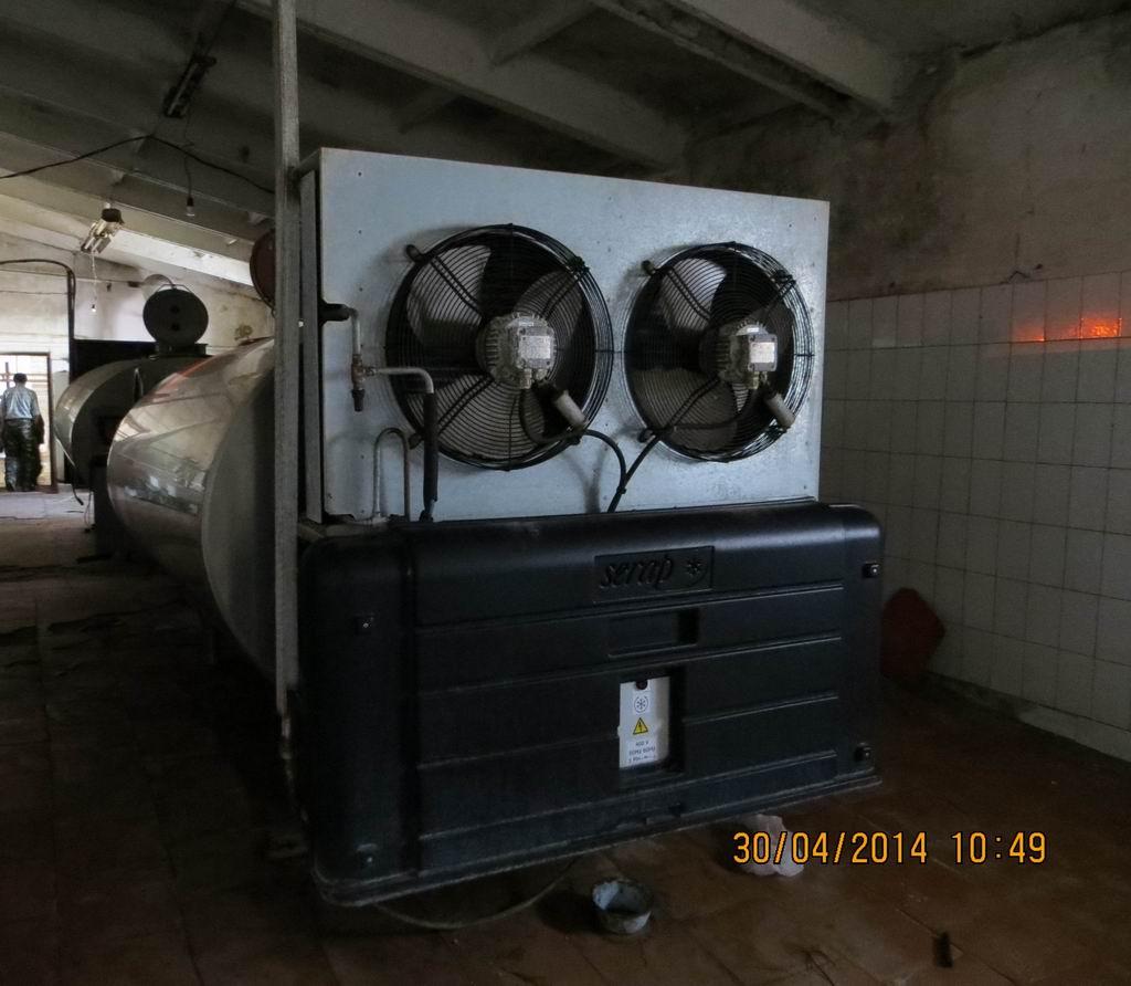 Продаётся Танк-охладитель, объем 4,5 куб.м. (4500л)