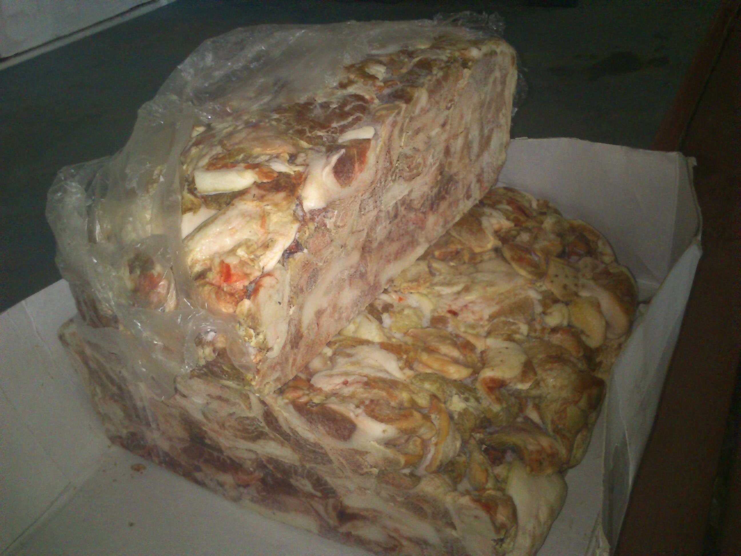 Свинина тримминг зам. 145 руб. 1305 кг.