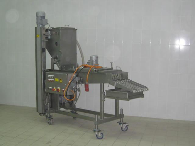 Машины для нанесения льезона и панировки