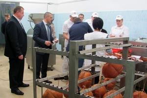 В Курганской государственной сельскохозяйственной академии на факультете биотехнологии появился новый учебный цех по переработке мяса