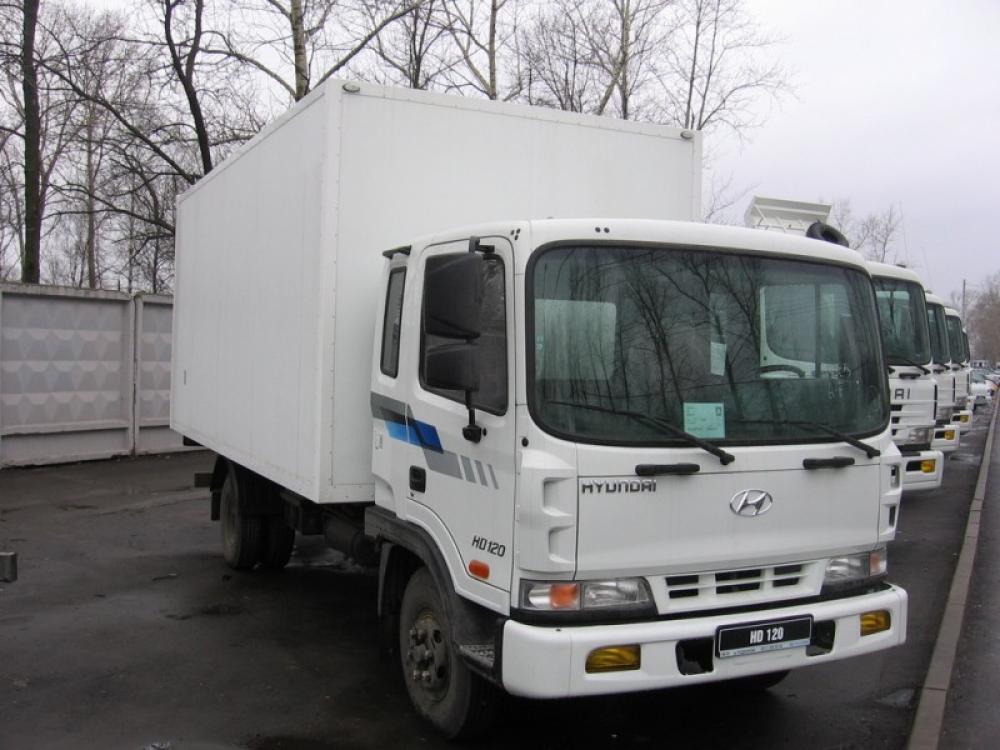 Hyundai HD 120  ТУШЕВОЗ
