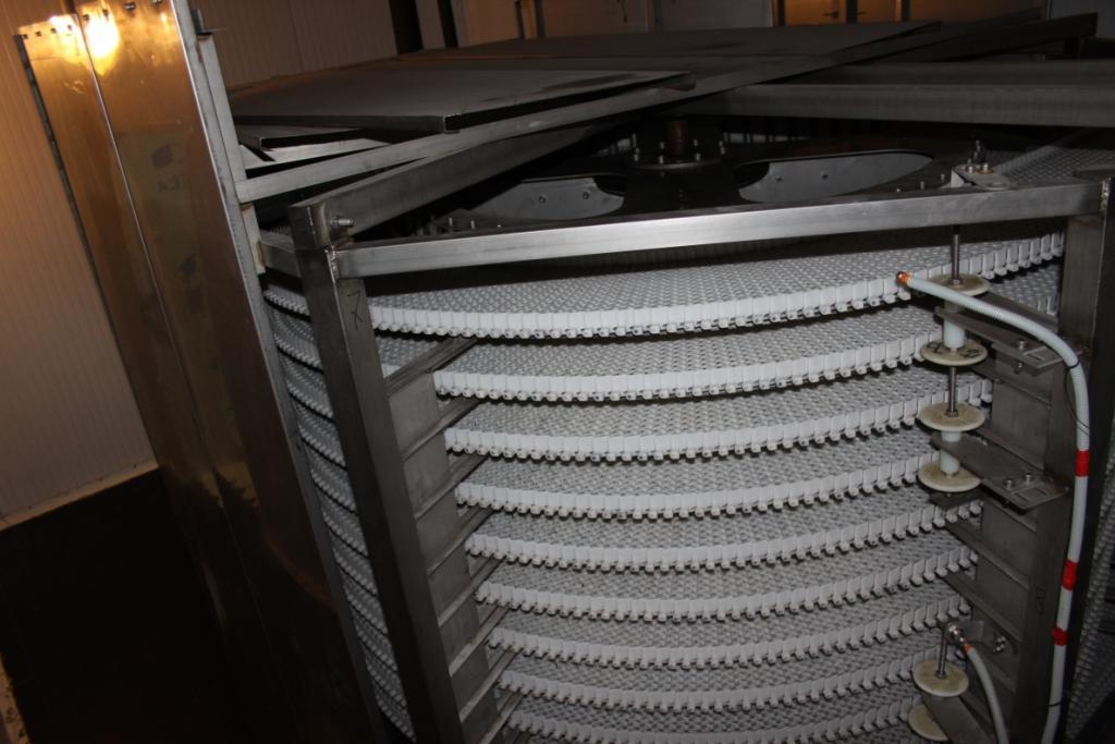 Спиральный конвейер десятирядный