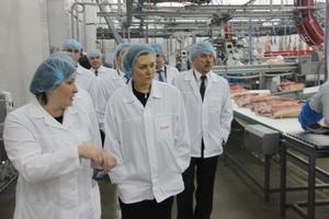 Мясоперерабатывающий завод «Агро-Белогорье» посетила руководитель Роспотребнадзора Анна Попова