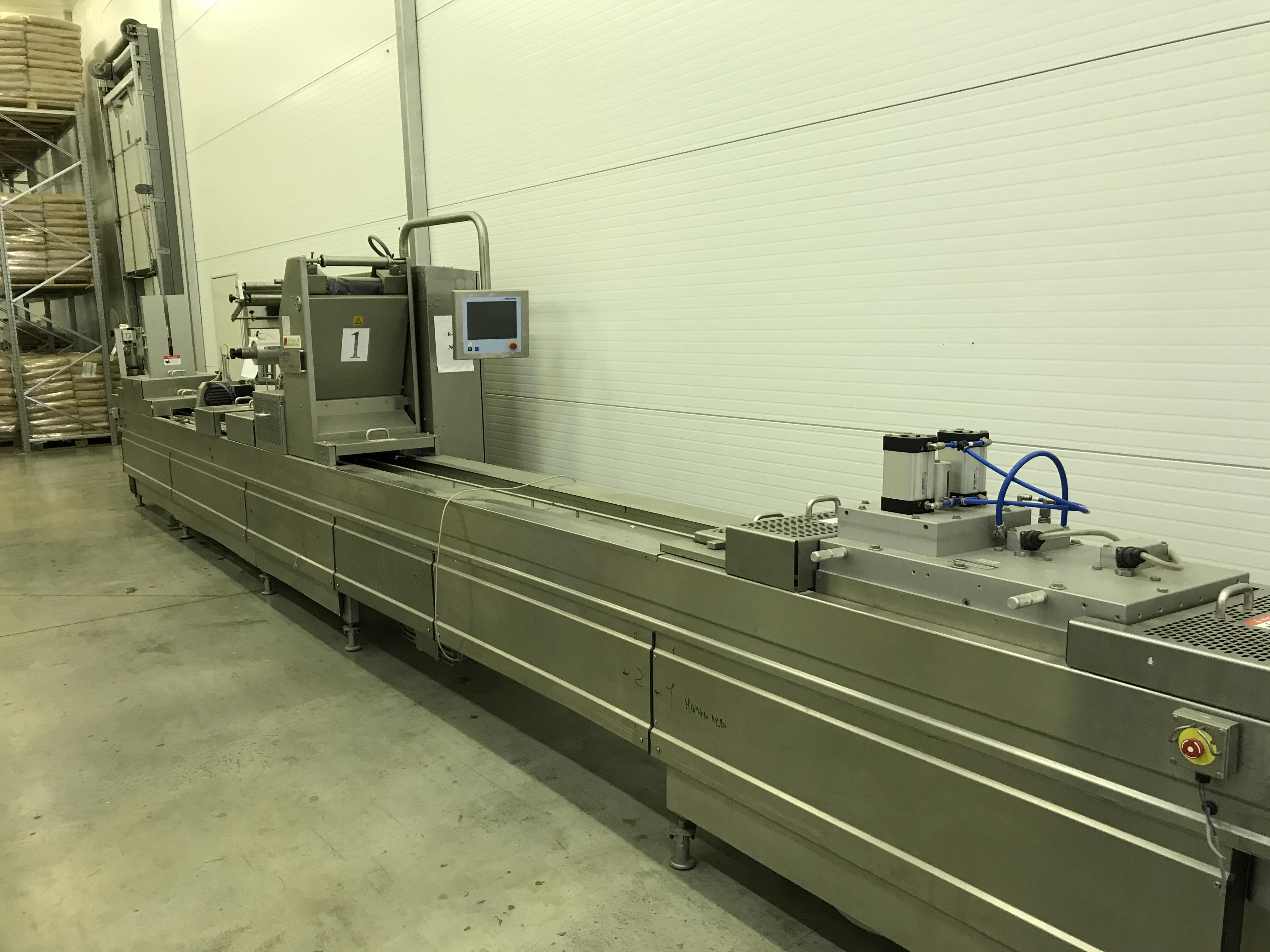 Термоформующая упаковочная машина (Darfresh)