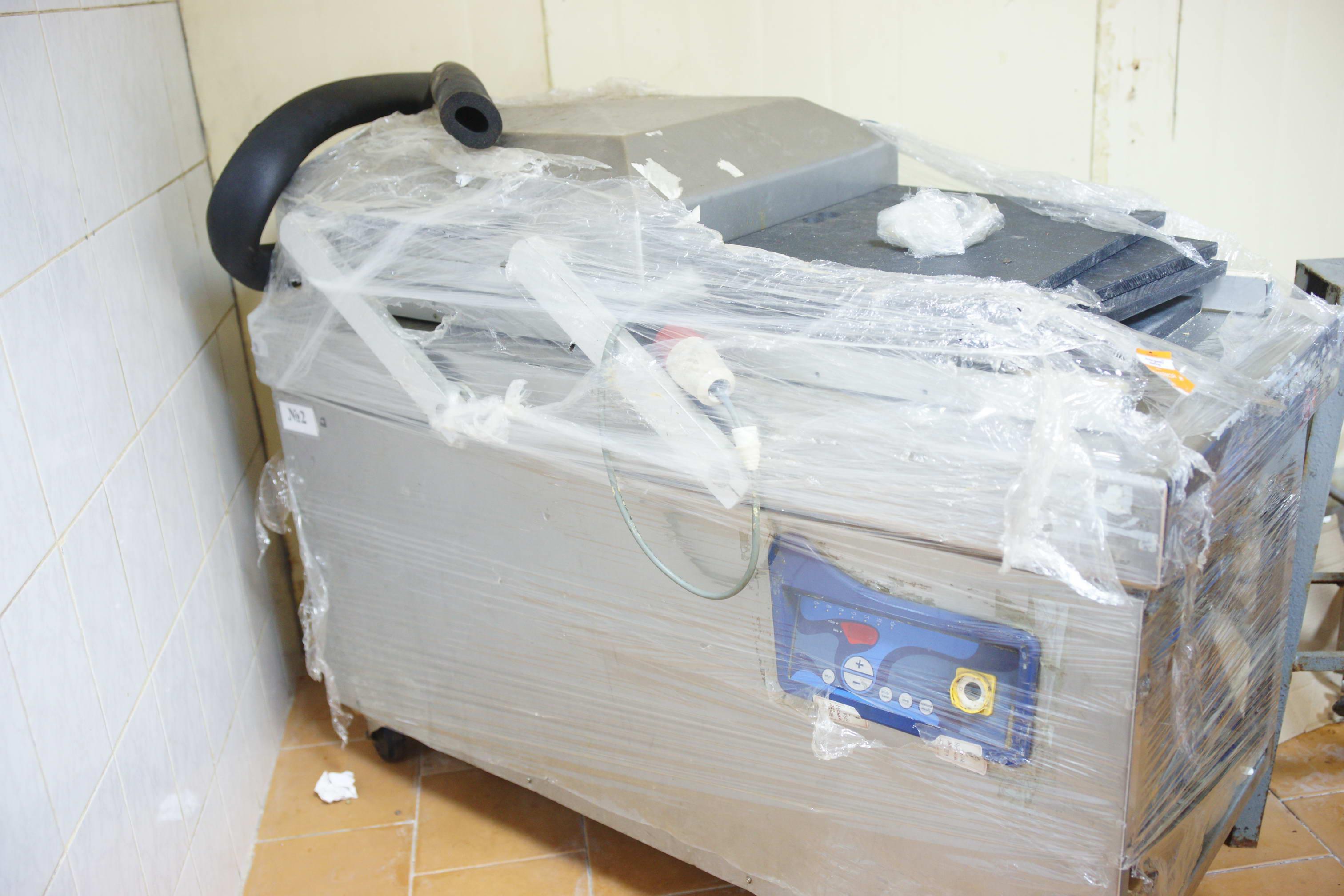 Вакуумная 2х-камерная упаковочная машина